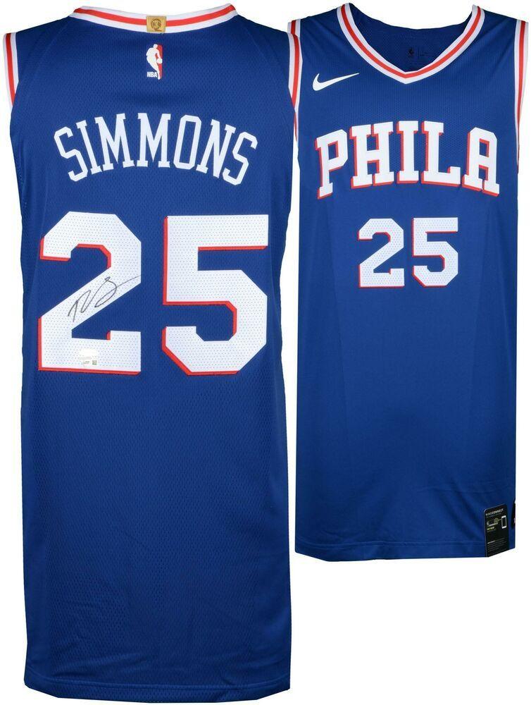 Autographed Ben Simmons 76ers Jersey Fanatics Authentic COA Item 8510113   sportsmemorabilia  autograph   37a31eeb0