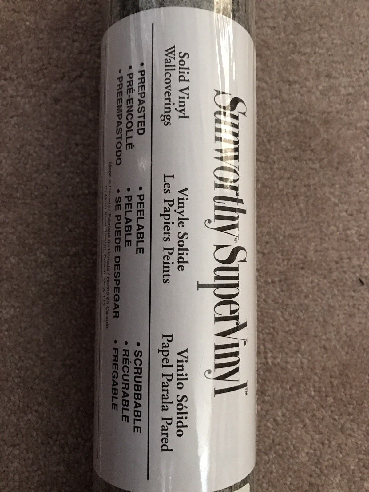 Sunworthy Supervinyl Wallpaper Custom Prepasted 2 Bolts Coverage 112.74 Sq Ft