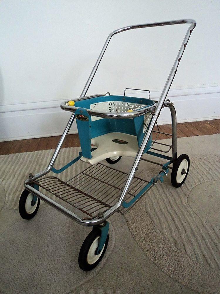 Vintage Taylor Tot Stroller Walker Baby Doll Stroller
