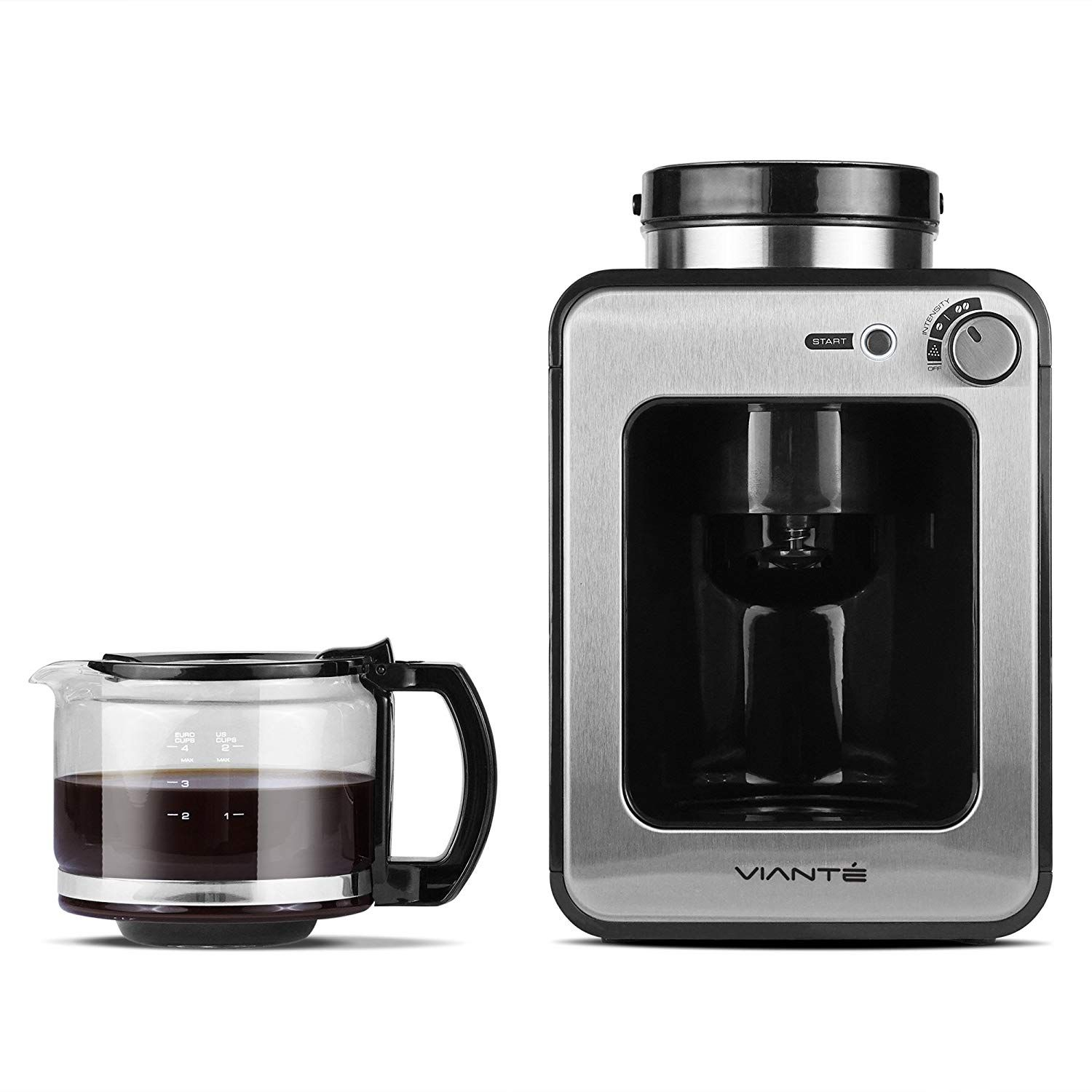 Viante CAF50 Grind and Brew Coffee Maker with