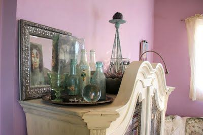vintage bottle decoration
