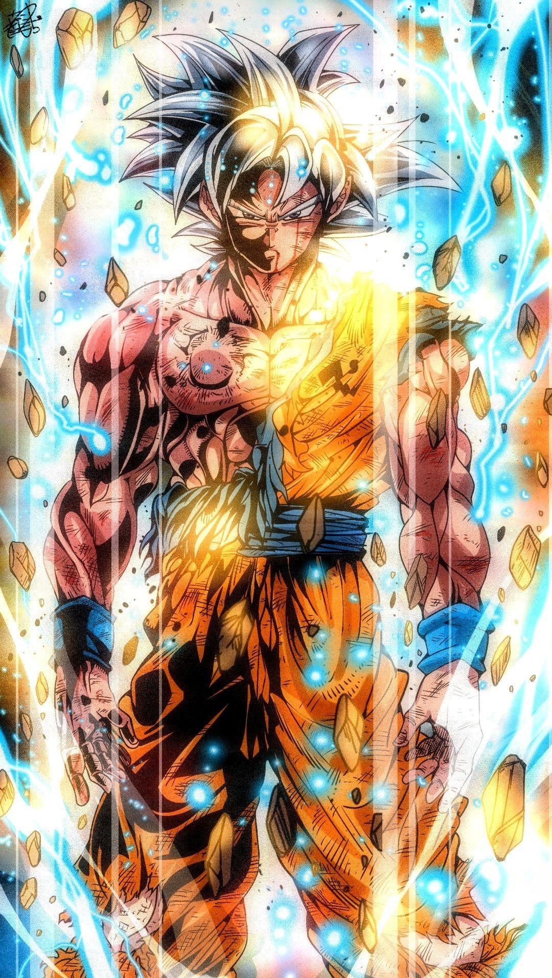 Goku Mui Dragon Ball Z Iphone Wallpaper Dragon Ball Super Artwork Anime Dragon Ball Super