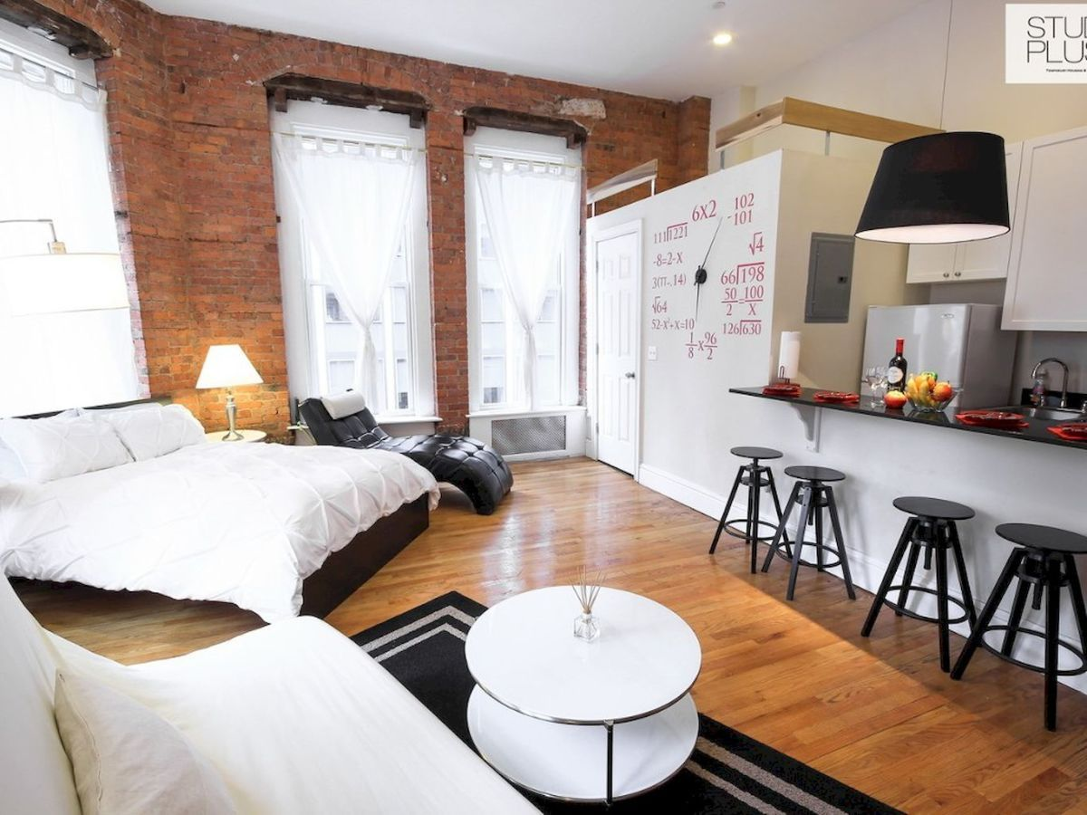 Stylish and cute apartment studio decor ideas