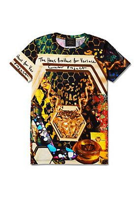 d7c9959d6c21 Versace - Haas Brothers T-shirt   Style in 2019   Pinterest ...