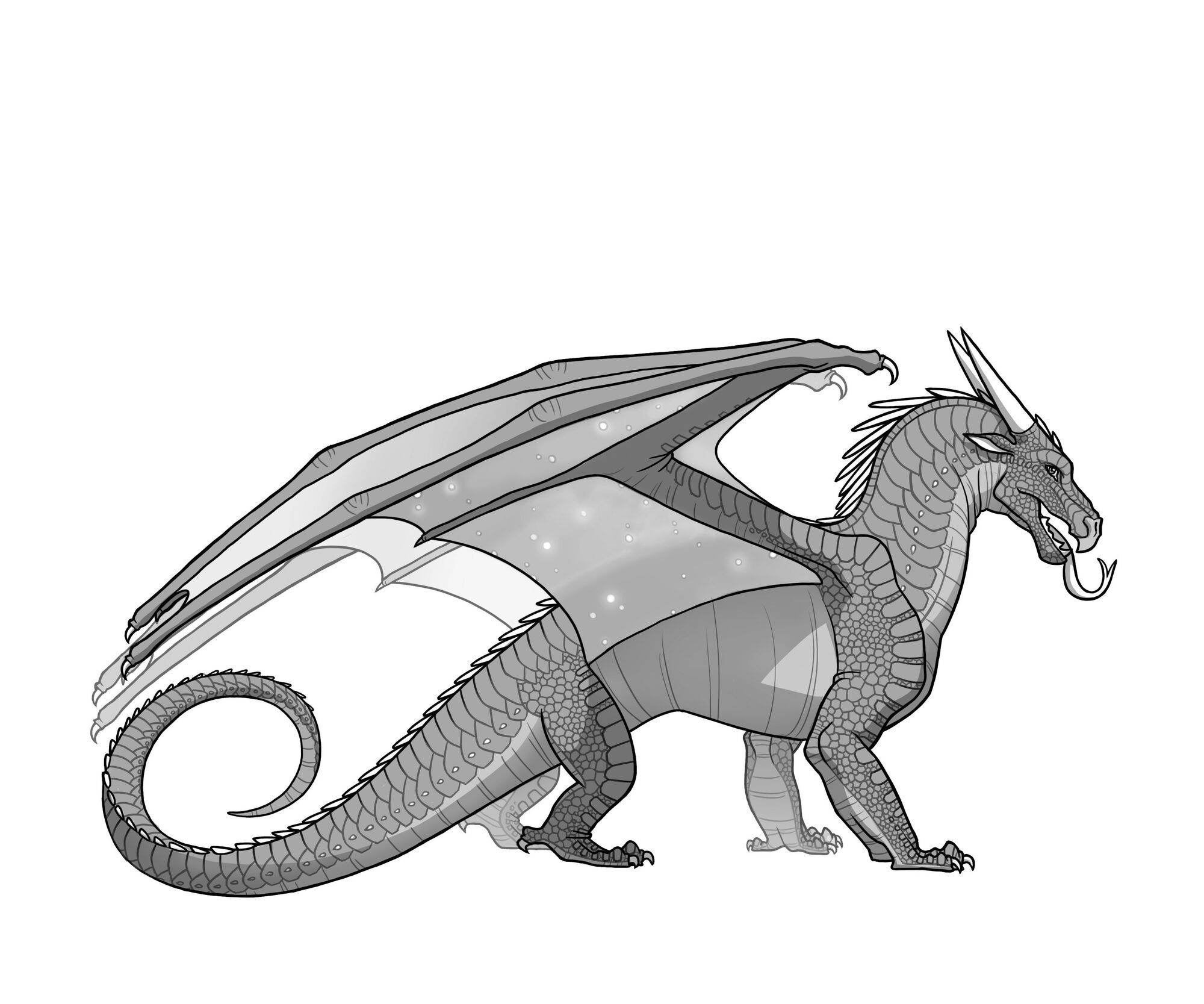 Printable Wings Of Fire Coloring Pages - Coloring Pages Ideas