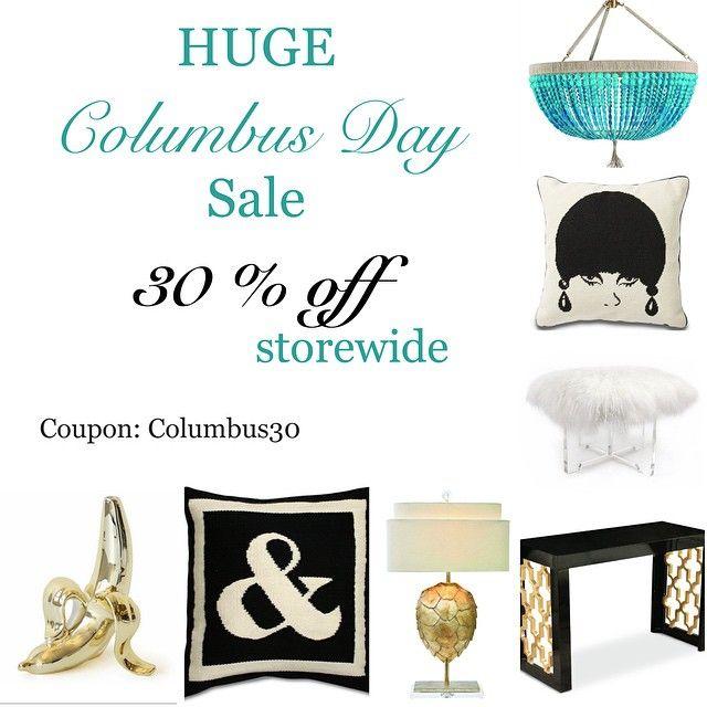 #columbusday #sale