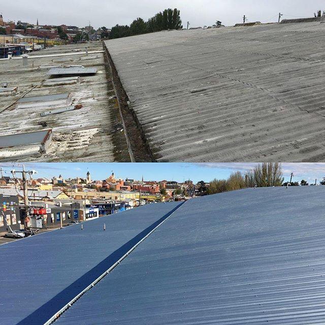Another Shot Of The Ballarat Asbestos Replacement Project Roofing Ballarat Roofing Acr Instagram