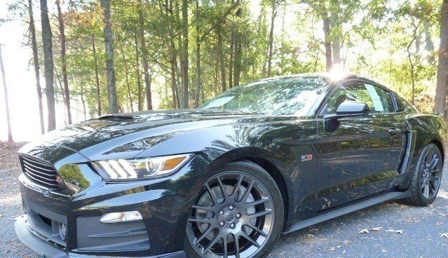2017 ford mustang roush stage 3 in shadow black 70254 ford mustang rh pinterest com