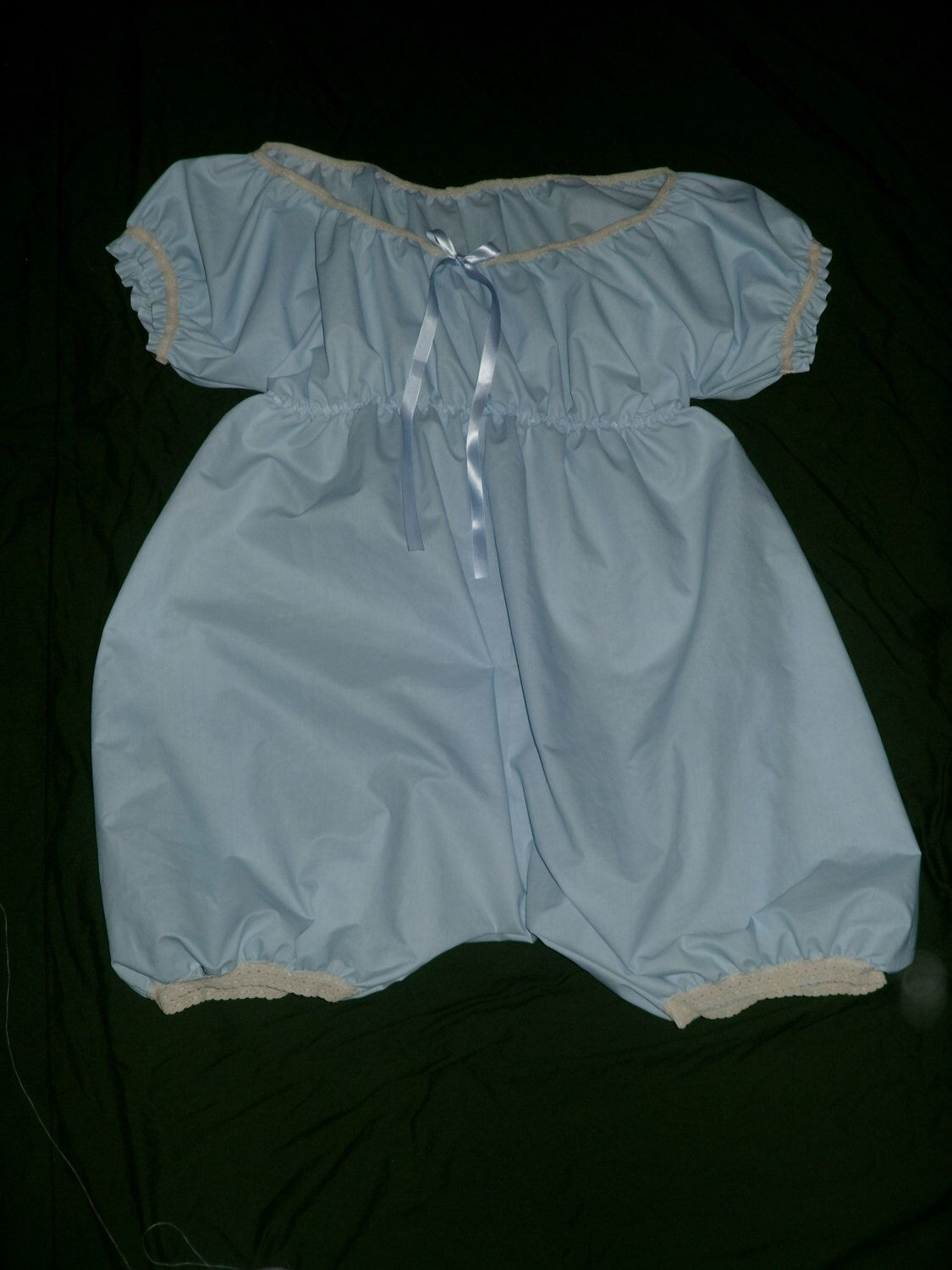 """White Opaque Plastic Pants   Size S Small  25-32/"""" Waist"""