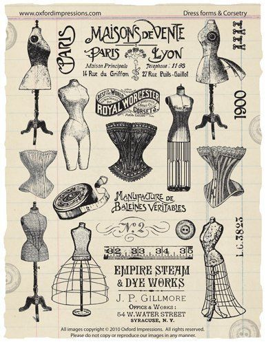 Dress Forms and Corsetry  Price : $24.00 http://store.oxfordimpressions.com/Oxford-Impressions-Dress-Forms-Corsetry/dp/B004GWJASQ