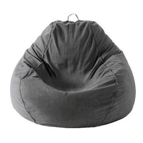 bean bag adult pear twill charcoal grey beanbag online only in rh pinterest com