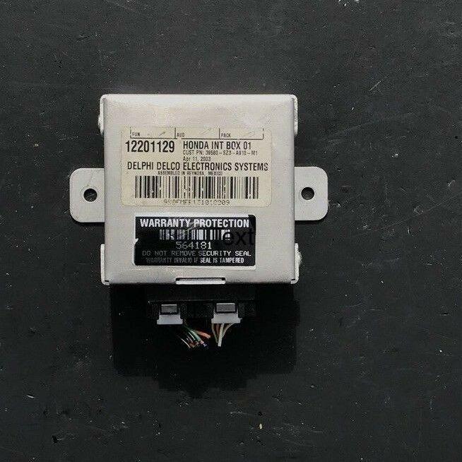 99-04 Acura RL Navigation Module 12201129 Control Unit On