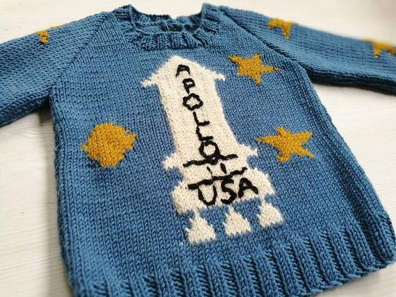 Apollo Sweater The Shining Movie Childrens Knit Wool Scraps