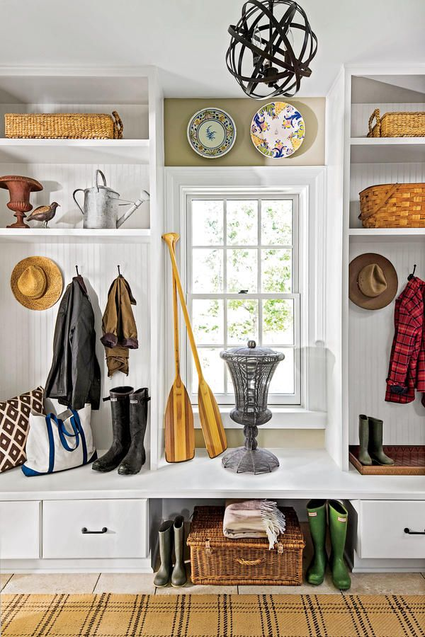 10 shortcuts to an organized home make your mudroom multitask rh pinterest com
