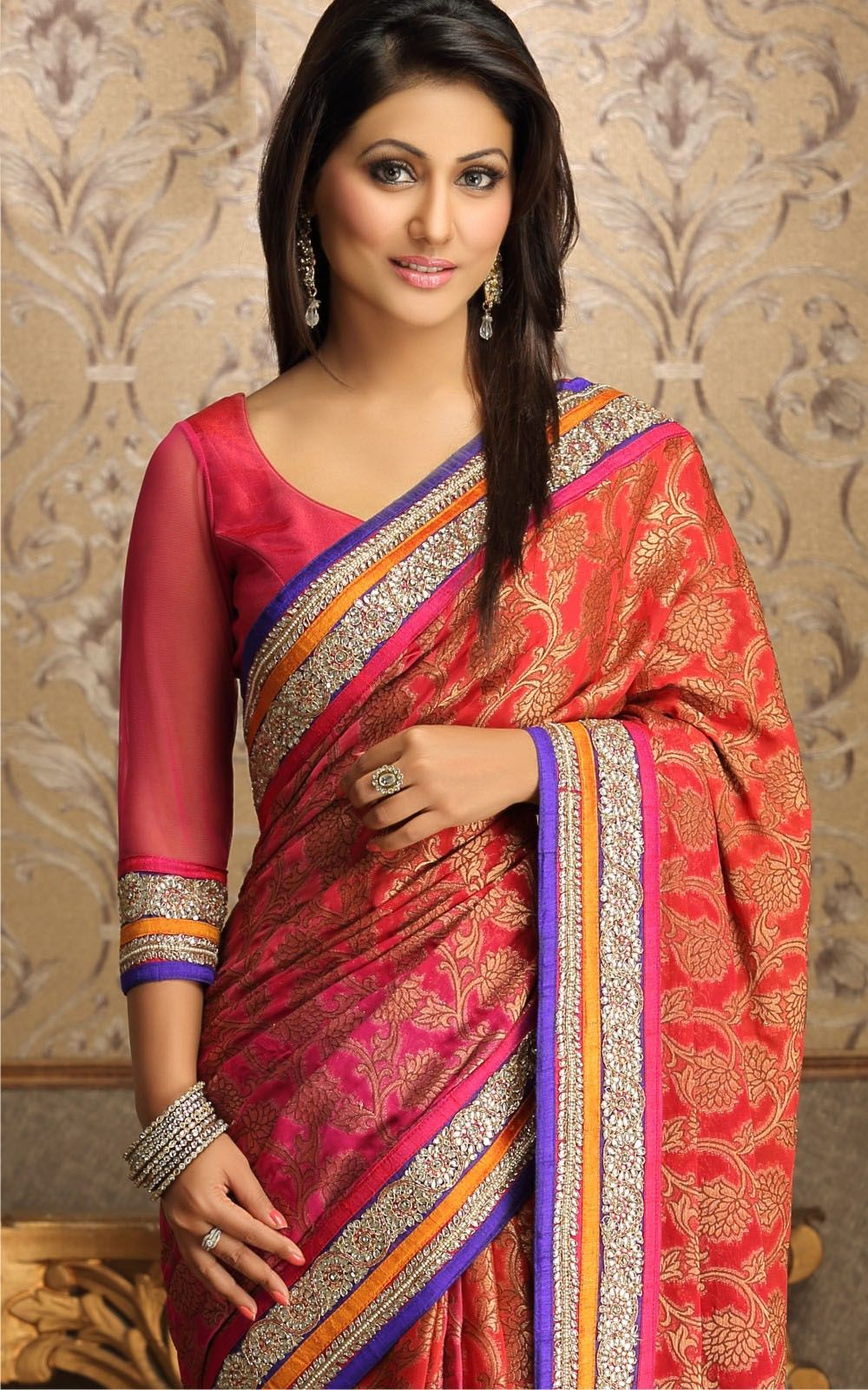 Beautiful Saree Collection And Style On Pinterest