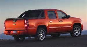 Orange Avalanche Truck