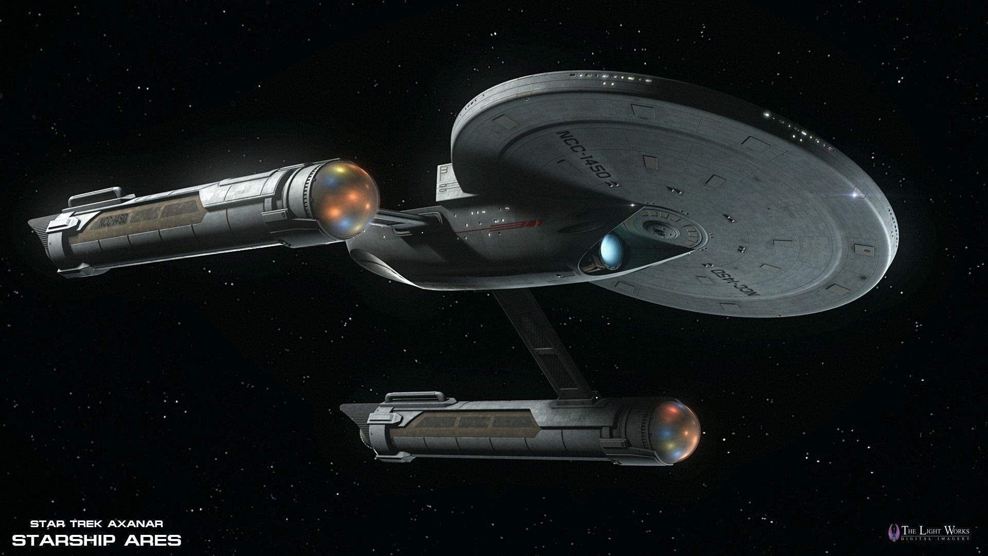 Star trek ships uss ares design from star trek axanar for Wohnung star trek design