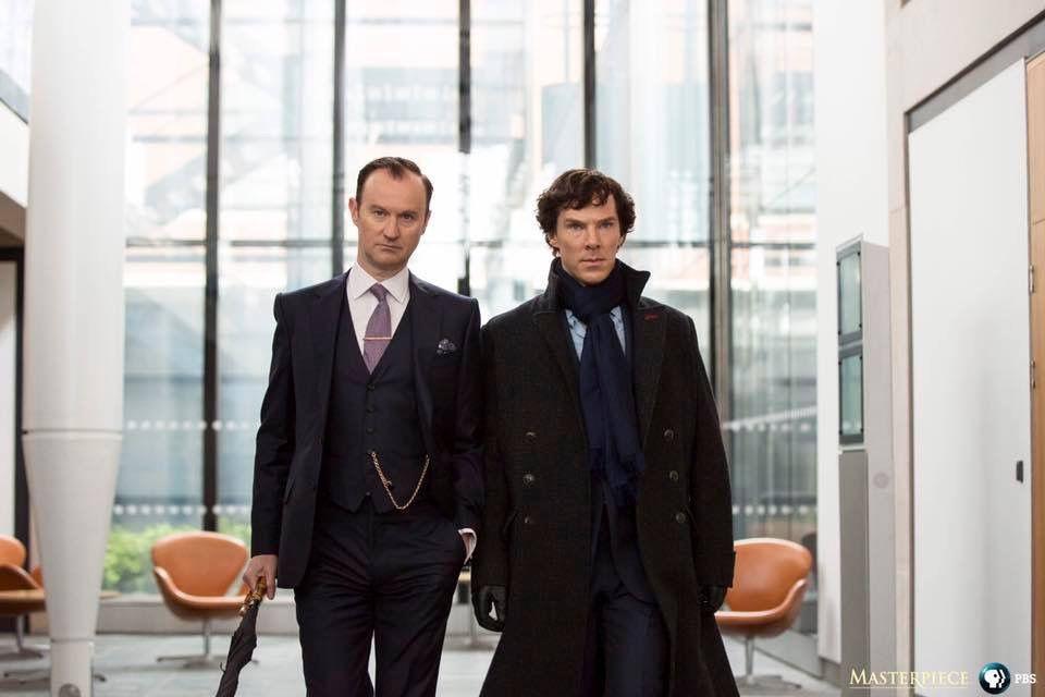 Season 4 - Mycroft and Sherlock