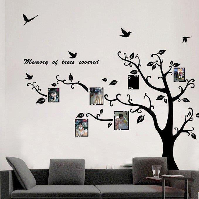 Resultado de imagen para fotos de arboles dibujados en una for Vinilos para murallas