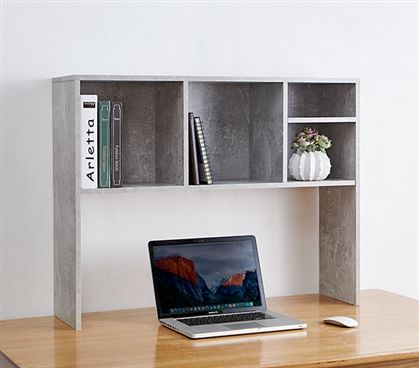 the college cube dorm desk bookshelf marble gray small space rh pinterest com