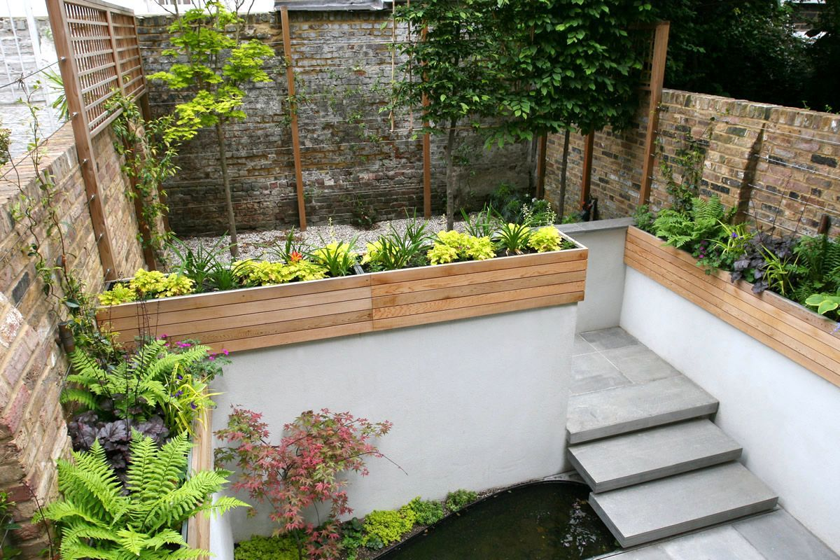 Patio Small Garden Design Ideas Tosmun