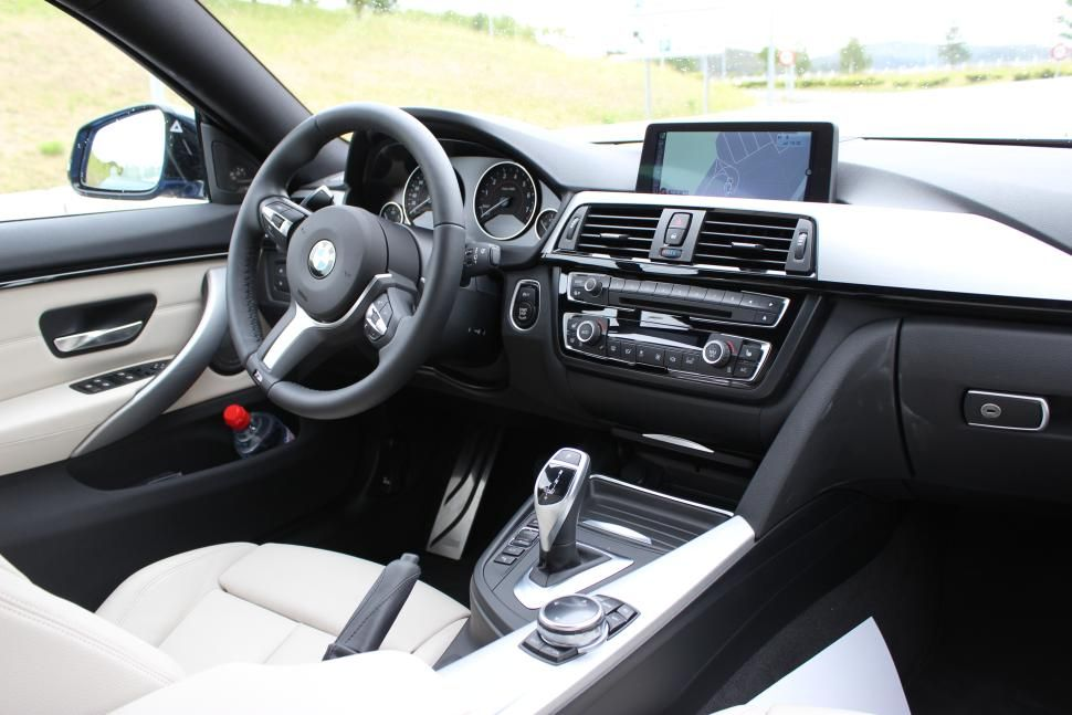 Bmw 4 Series Gran Coupe Interior With Images Bmw 3 Series
