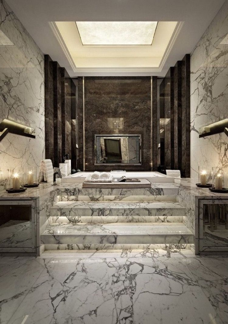 Bathroom Inspiration This would be heaven