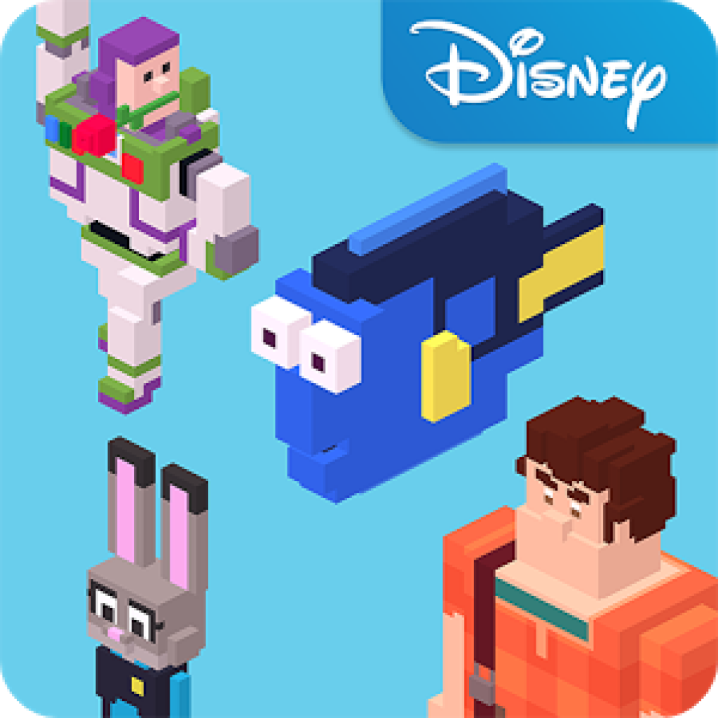 hack disney crossy road mod apk