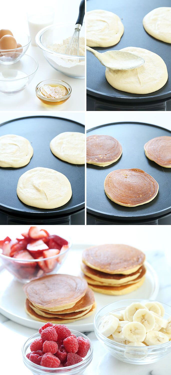 Fluffy coconut flour pancakes recipe coconut flour pancakes fluffy coconut flour pancakes ccuart Image collections