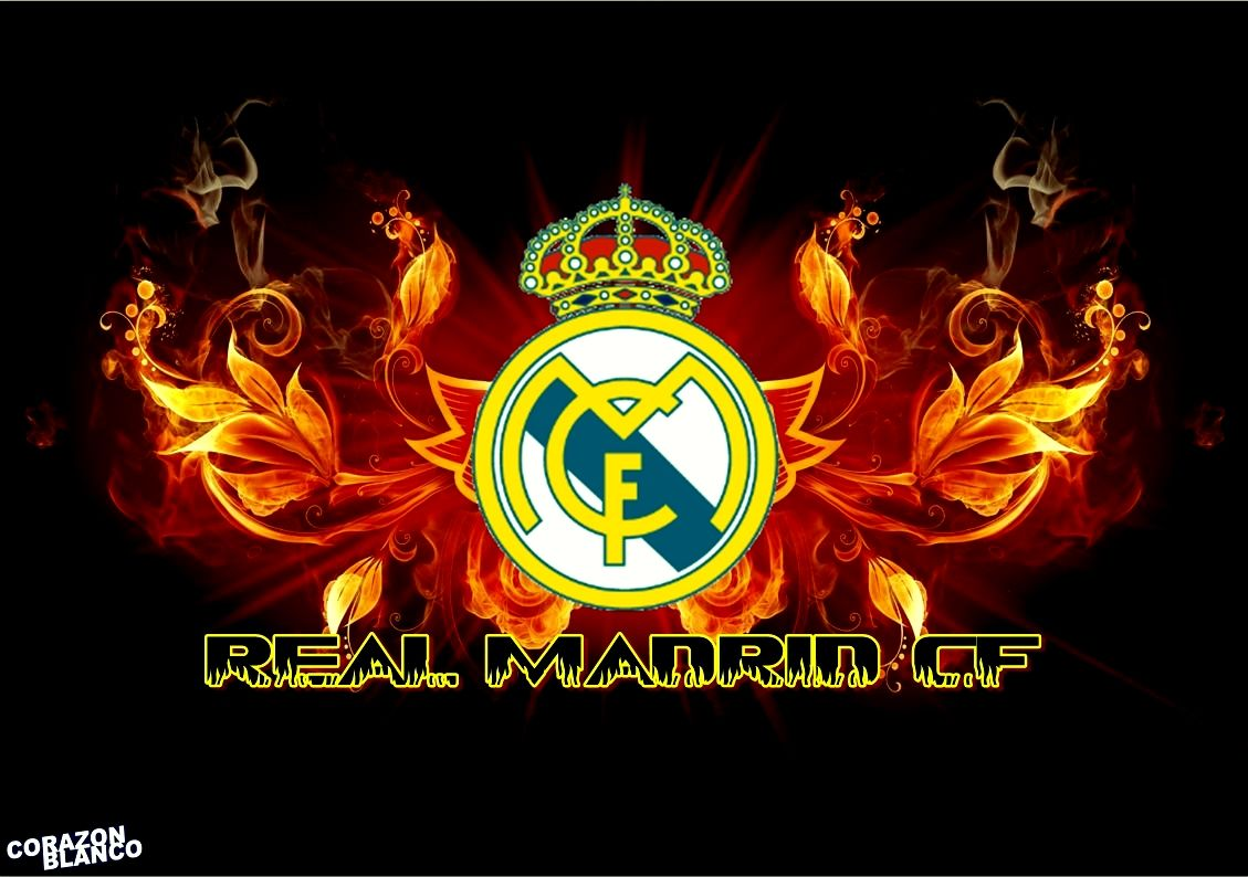 Real Madrid Logo Football Wallpaper Wallpapers Hd Wallpaper High Quality Olahraga