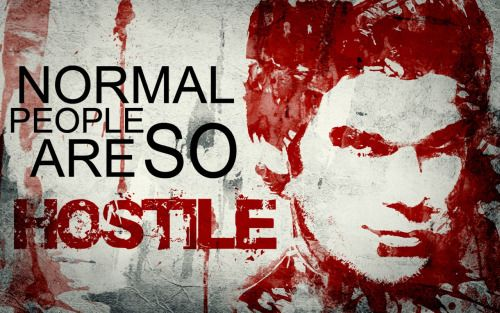 Murdermondays Normal People Are So Hostile Dexter Wallpaper