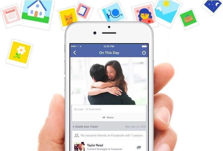 Facebook On This Day - o noua functie pentru utilizatori   iDevice.ro