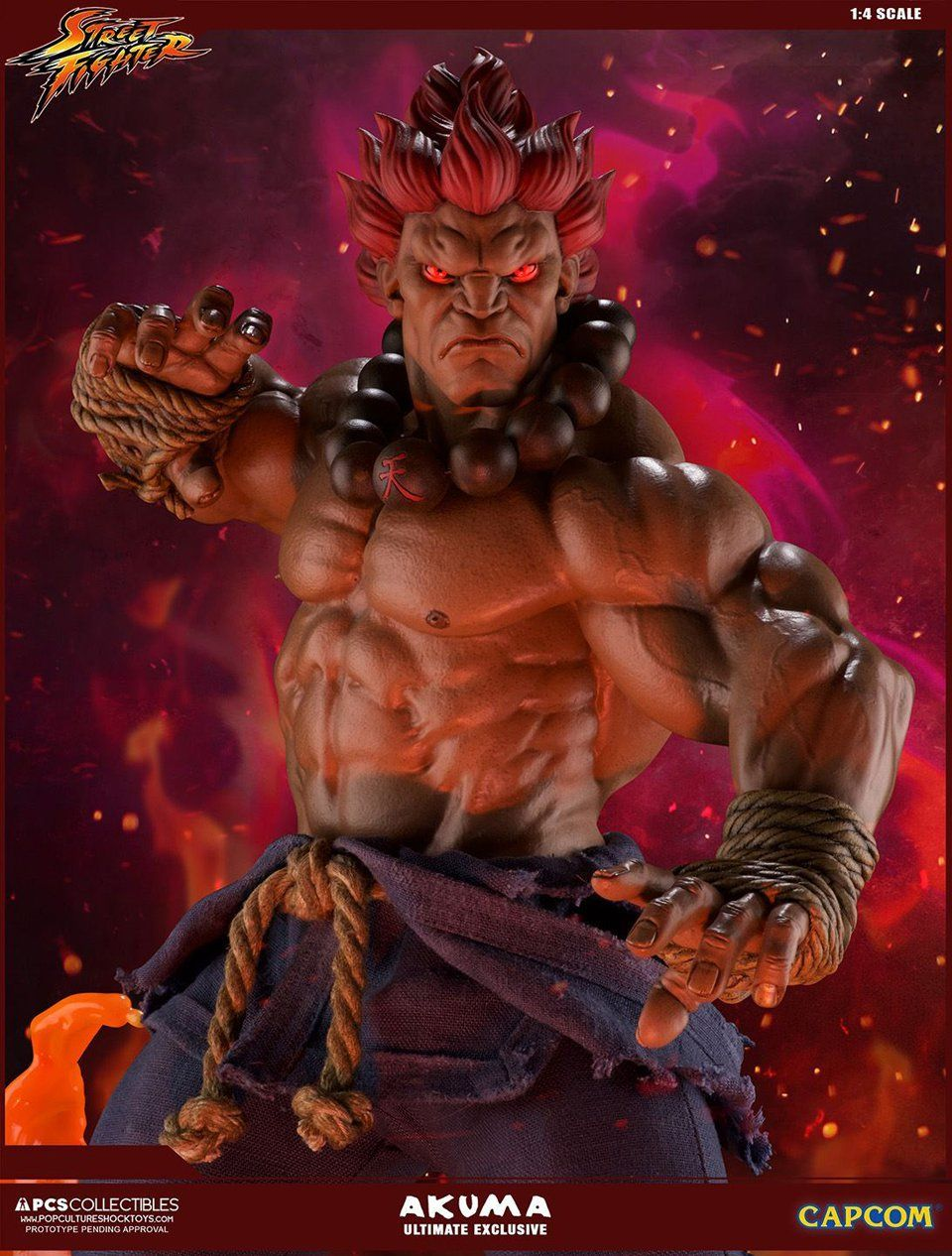 Akuma 1 4 Ultimate Ex Statue Street Fighter Art Street Fighter