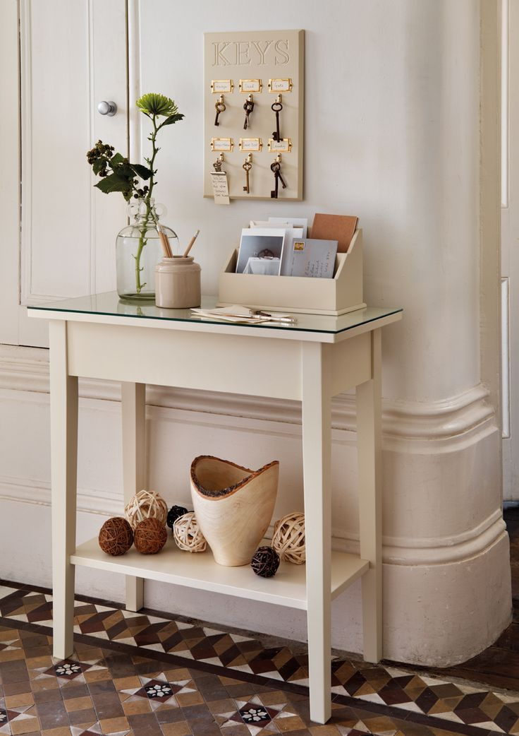Small Narrow Console Table 6