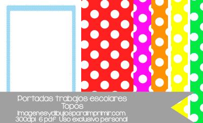 portadas de trabajos escolares recurso para profesores y papas en alta calidad imprimible pdf 12