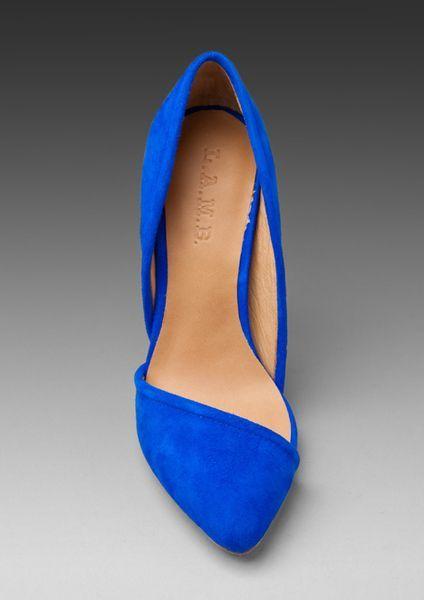 Cute Wide Shoes   Blue heels, Suede