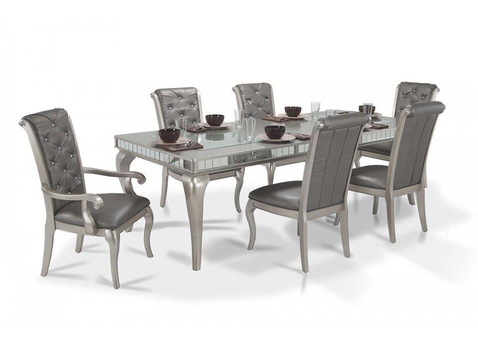Diva 7 Piece Dining Set | Bob\'s Discount Furniture | Adult Home ...