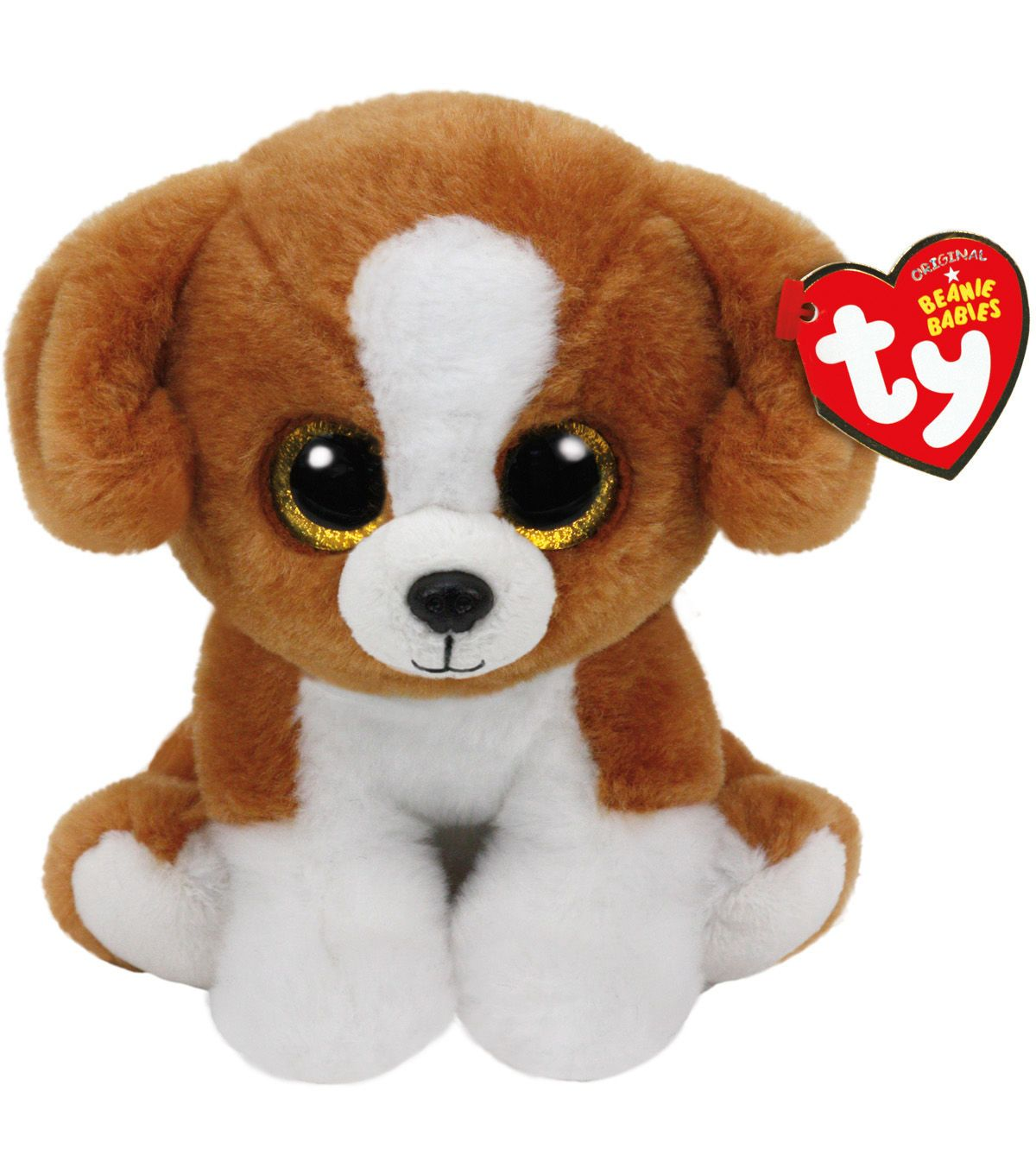 "Ty Beanie Boos 6/"" Stuffed Plush Kid Toy Animal Soft Plush Snicky Dog Kids Doll"