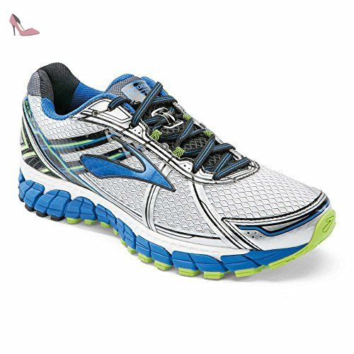 Brooks Adrenaline Gts 13 M, Chaussures de running homme - blanc - Blanc /  Bleu