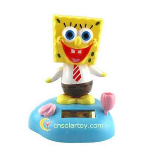 Sponge Bob Solar Powered Toys Dancing Toys Solar Gadgets Products