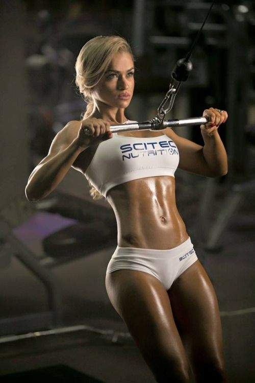 Crossfit girls nude