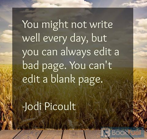 Writing tip from Jodi Picoult!
