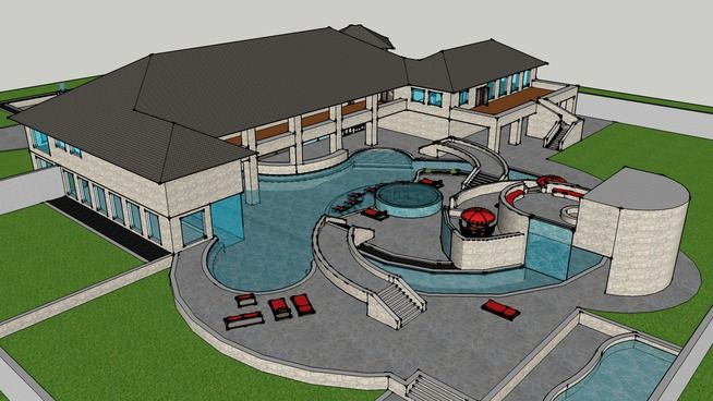 swiming pool - 3D Warehouse