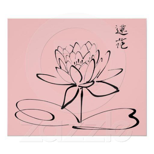 Zen Lotus Flower Poster Lotus Pinterest Tattoos Lotus Tattoo