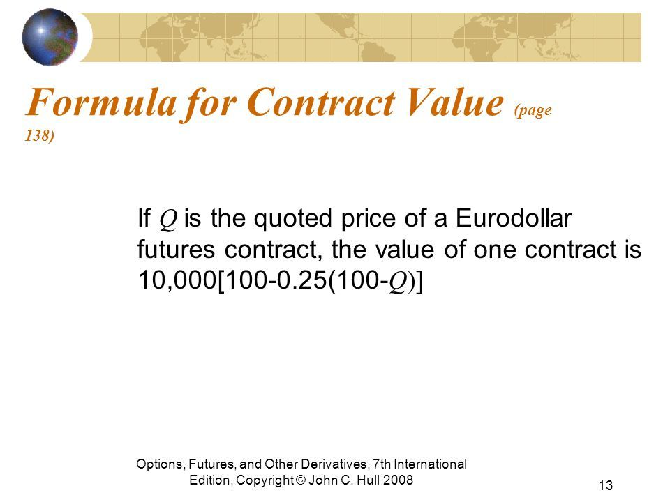 Eurodollar Futures Contract Like Slot Machines Pinterest