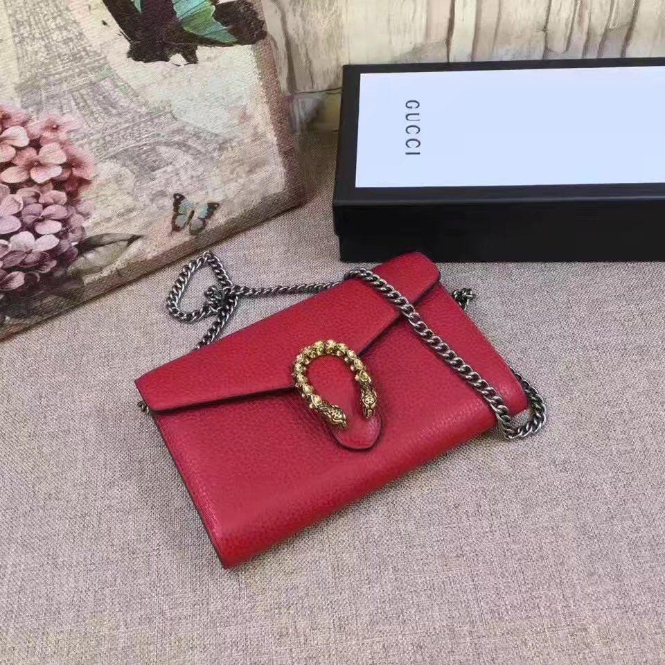 Replica GUCCI Dionysus leather mini chain bag style 401231 ID 31683 ... 2f41f3290a