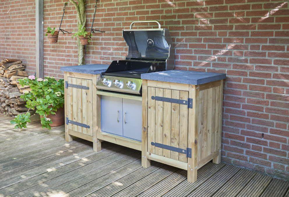 Houten Stelling Praxis.Praxis Ombouw Maken Voor Gas Bbq Patio In 2019