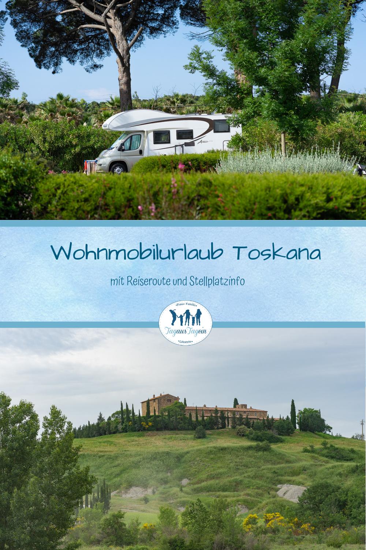 Reisebericht  Wohnmobil Toskana ✅ Stellplätze und Route