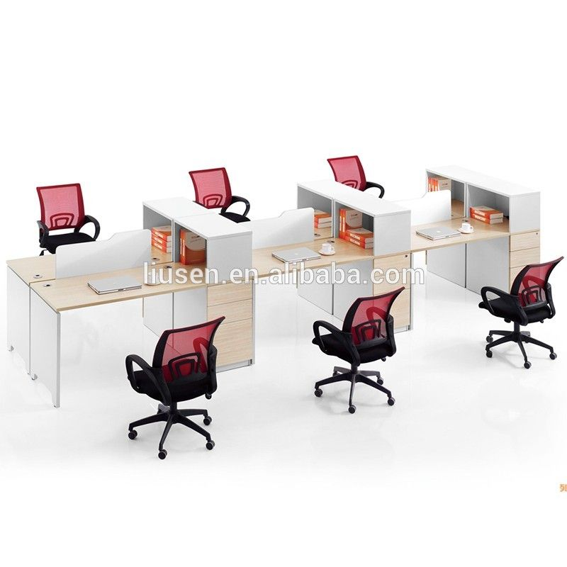 Factory Wholesale Price Melamine Office Furniture Desk Modern 3