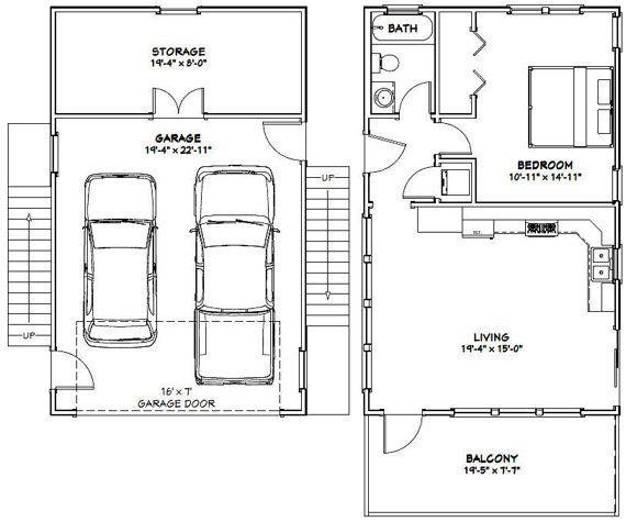 20x32 Homes 2 Bedroom 1 Bath 808 Sq Ft By Excellentfloorplans